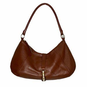 Banana Republic Brown Leather Hobo Shoulder Bag